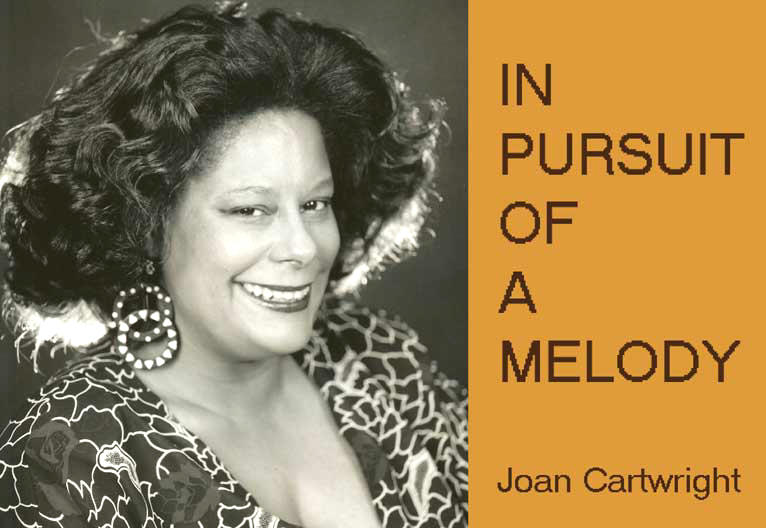 Jazz Singer Joan Cartwright's